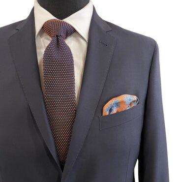 CN51190 - Navy, Stretch, 100% Wool