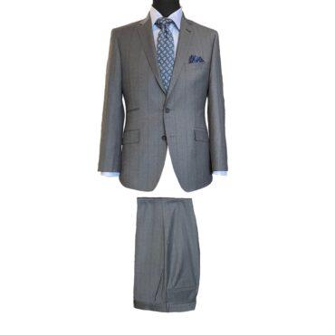 CG21220 - Grey Plaid, 100% Wool