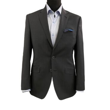 CG92304 - Charcoal Matt Plain, 100% Wool