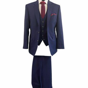 EN96704 - Navy Blue, 84% Wool, 16% Mohair