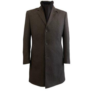 ER33065 - Flannel Brown Diamond, 100% Wool
