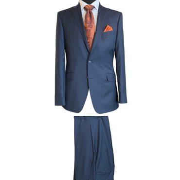 CN51204 - Blue Plaid, 100% Wool