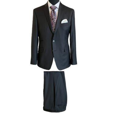 CB11054 - Black Solid, 100% Wool